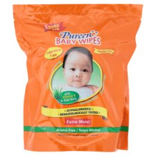 Pureen Extra Moist Baby Wipes Refill 150 Sheets