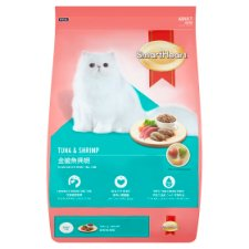 SmartHeart Tuna & Shrimp for Adult Cats of All Breeds Cat Food 3kg