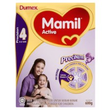 Dumex Mamil Active 4 Regular Formulated Milk Powder For Children 4-6 Years 600g