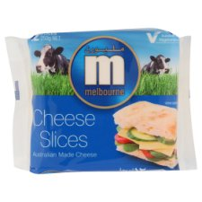 Melbourne Cheese Slices 12 Slices 250g