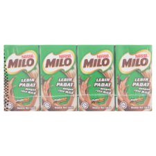 Nestle Milo Chocolate Malt Drink 4 x 125ml
